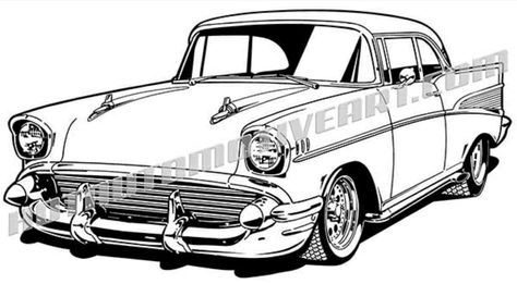325 best auto art images car drawings cars drawings of cars 1956 Chevrolet Model 210 Specifications