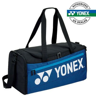 Details About Yonex 92031 Pro Series Duffle Deep Blue Badminton Tennis Racquet Bag In 2020 Tennis Racquet Bag Racquet Bag Tennis Bags