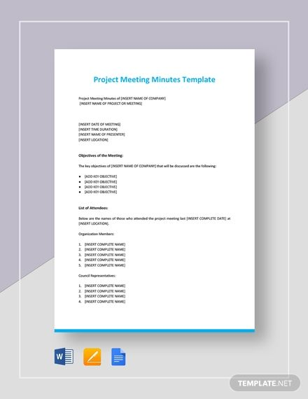Pin On Meeting Minutes Templates Designs