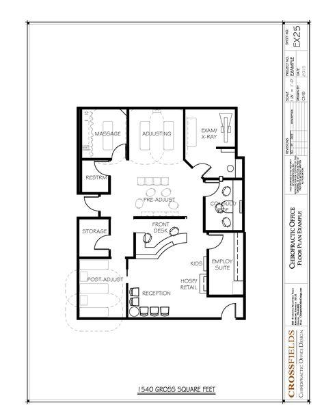 Small Offices Floor Plans  Sample Floor Plan Drawings