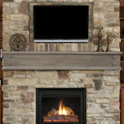 Pearl Mantels Jackson Fireplace Shelf Mantel Fireplace Shelves