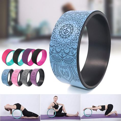Aid your practice with these sturdy and stylish yoga wheels.