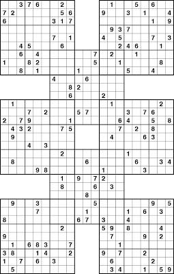 photograph regarding Printable Sudoku Hard named PRINTABLE SUDOKU: PRINTABLE SUDOKU - Complicated Sudoku Sudoku
