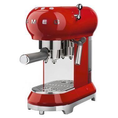 شراء Smeg 50 S Retro Style Aesthetic Espresso Coffee Machine Red Smeg أونلاين سبري الإمارات Best Espresso Machine Espresso Coffee Machine Smeg