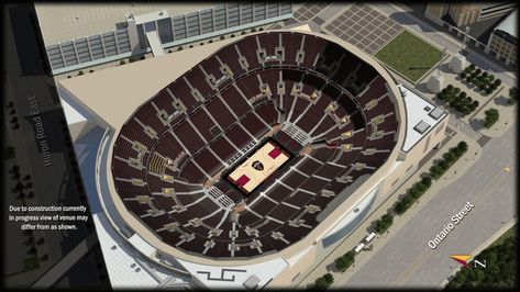 Seating Chart For Quicken Loans Arena