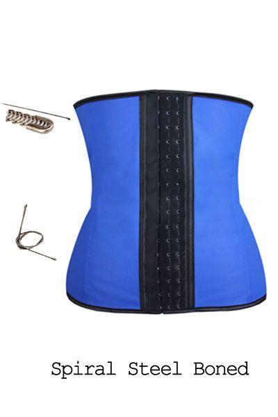 e08f44d8613 Hot Sale Blue Bigger Hook Waist Trainer Slimming Waist Plus Size Women  Corset - Buy Slimming Waist Cor…