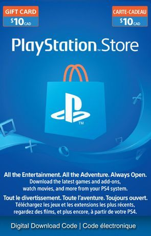 Sony Playstation Network 10 Playstation Store Gift Card