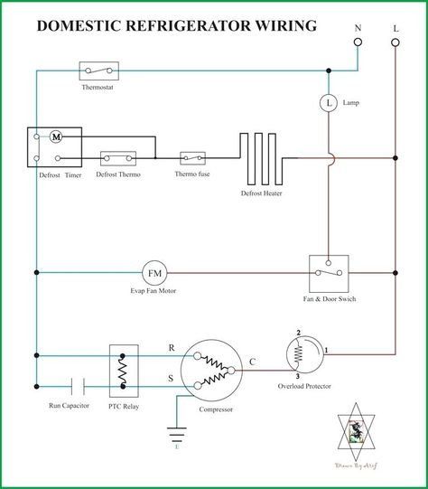 Samsung Fridge Compressor Wiring Diagram Refrigeration Diagrams