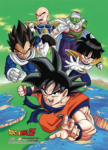 Dragon Ball Z Wall Scroll Namek Saga Heroes Archonia Us Dragon Ball Dragon Dragon Ball Z