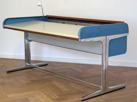 Herman Miller ACTION OFFICE Vitra George Nelson Schreibtisch Desk | EBay