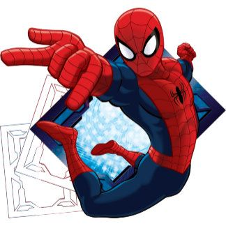 Spider Man Action Character Badge Spiderman Ultimate Spiderman Character