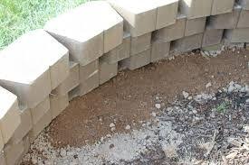 Image Result For Interlocking Concrete Blocks For Retaining Walls Retaining Wall Diy Retaining Wall Landscaping Blocks