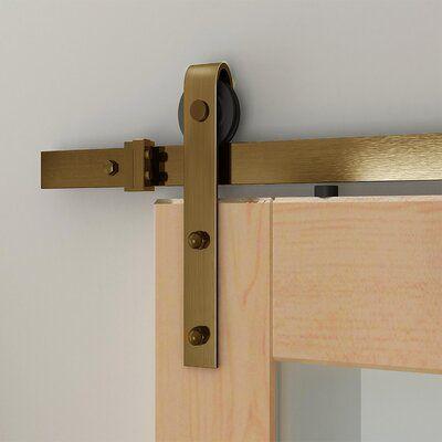 Custom Service Hardware Soft Close Standard Single Barn Door