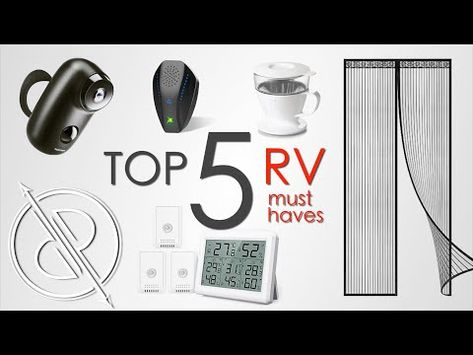 The MOST USEFUL RV accessories! (our top 5) - YouTube