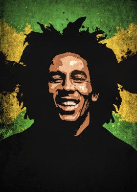 Bob Marley Music Poster Print Metal Posters With Images Bob