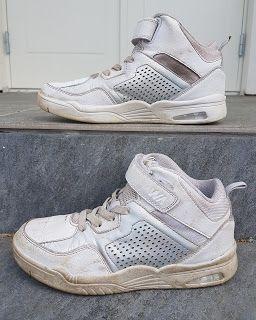 Låt barnen slajma giftfritt Saras eviga   Vita skor, Skor