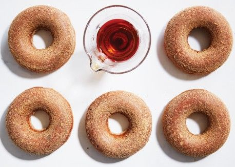 Maple-Cider Oven Doughnuts | Vegetarian Times