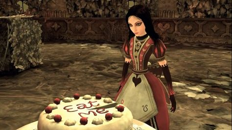 Alice: The Madness Returns Eat Me by TheLifeOfAGamer on DeviantArt