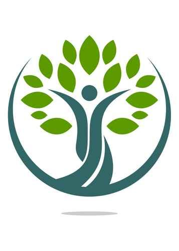 Natural health care logo