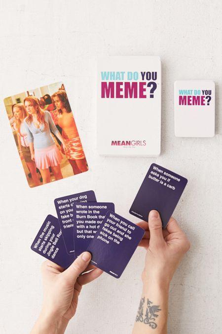 What Do You Meme Game What Do You Meme You Meme Mean Girls