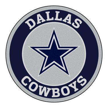 Company C Rugs Dallas Cowboys Roundel Area Rug Floor Mat