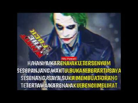 Story Wa Keren Versi Joker 30 Detik Part 7 Youtube Di 2020