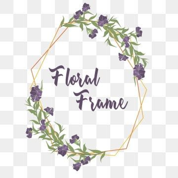 Elegant Purple Flower Frame Flowers Rose Wattercolor Png And Vector With Transparent Background For Free Download In 2020 Flower Frame Png Watercolor Flower Wreath Flower Frame