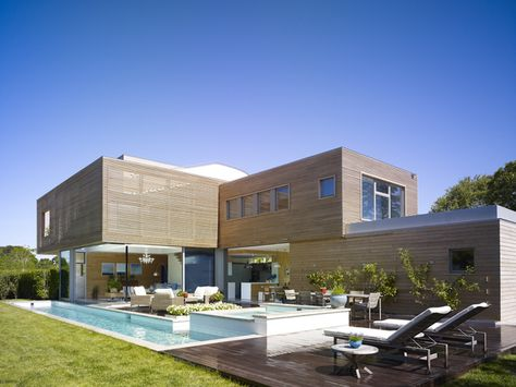 Hamptons Residence by ustin Patterson Disston Architects.