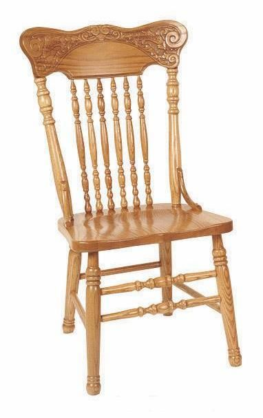 Amish Pressback Dining Chair | back in the 1800\'S 1600\'S ...