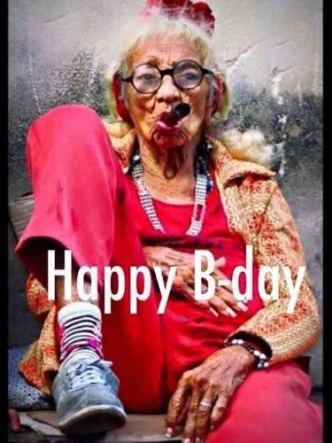 Funny Birthday Pictures For Mom Old Women Birthday Meme People