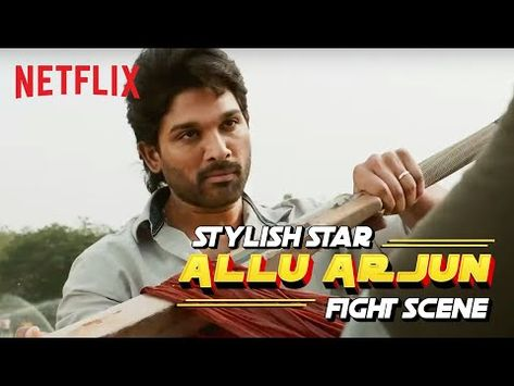 Allu Arjun Fight Scene   Ala Vaikunthapurramloo   Netflix India