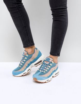 Nike Air Max 95 Lx Trainers In Blue | Vaatteet, kledjut