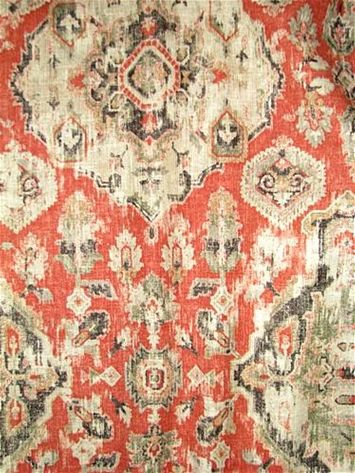 Massimo 30 Henna Red In 2020 With Images Fabric Decor Covington Fabric Medallion Rug