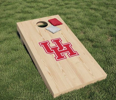 University of Houston Cougars Primary Logo Cornhole Decal (Includes 1 Decal)