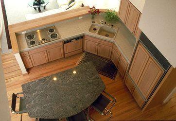 L Shape Kitchen With Island Diy Kitchen Renovation Kitchen Design Small Corner Sink Kitchen