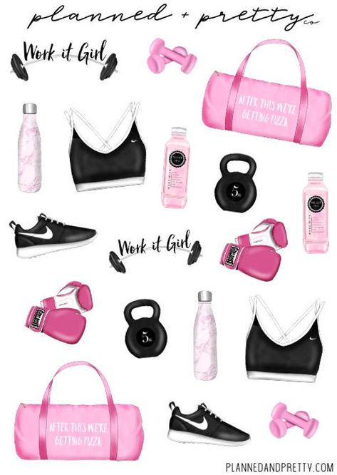 All stickers printed on non-removable matte paper Printed on non-removable matte sticker paper. Sheet is approximately x Happy planning! Tween Girl Gifts, Tween Girls, Gym Bag Essentials, Teen Christmas Gifts, Teen Trends, Best Amazon Products, Personal Planners, Fitness Planner, Workout Planner