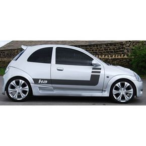 Ford Ka Striping 6 1997 Autos Modificados Autos Coches