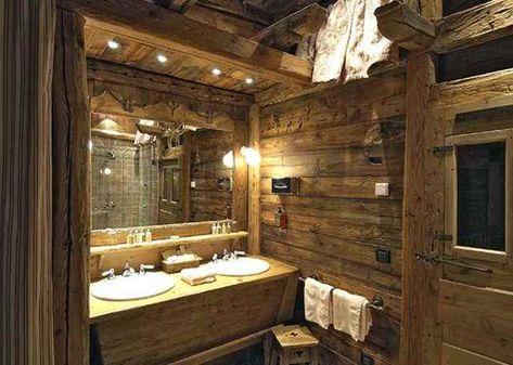Salle de bain style chalet   Bathrooms   Pinterest   Rustic ...
