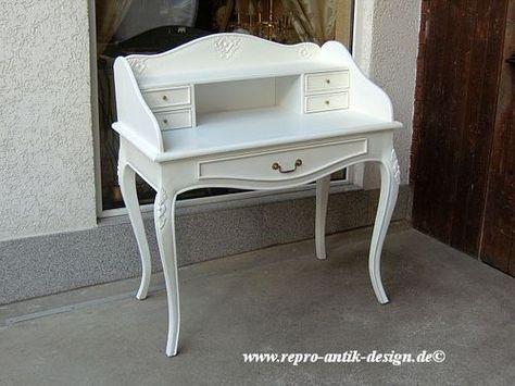 Schreibtisch Louis Xv Antik Barock Empire Sekretar Edel Vintage