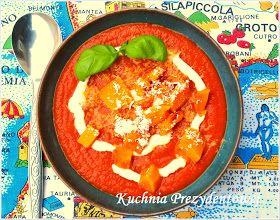Kuchnia Prezydentowej Zupa Pomidorowa Z Pieczoną Dynią I