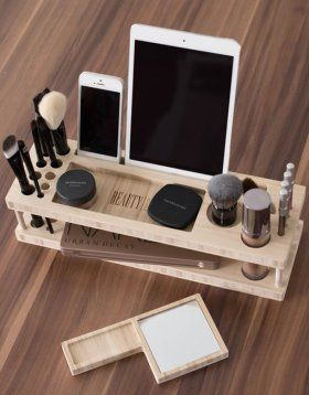 Top Summer Projects For Sunday Crafts Diy Wood Makeup