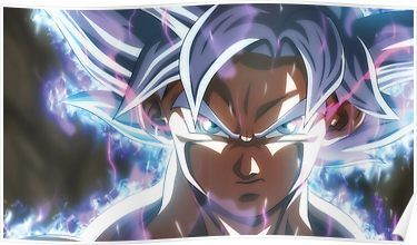Goku Ultra Instinct Power Goku Ultra Instinct Full Power Goku Limit Breaker Poster By Babystoredesing In 2021 Goku Wallpaper Dragon Ball Super Wallpapers Dragon Ball Wallpapers
