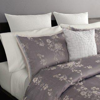Simply Vera Vera Wang Ikat Floral 3 Piece Comforter Set Null
