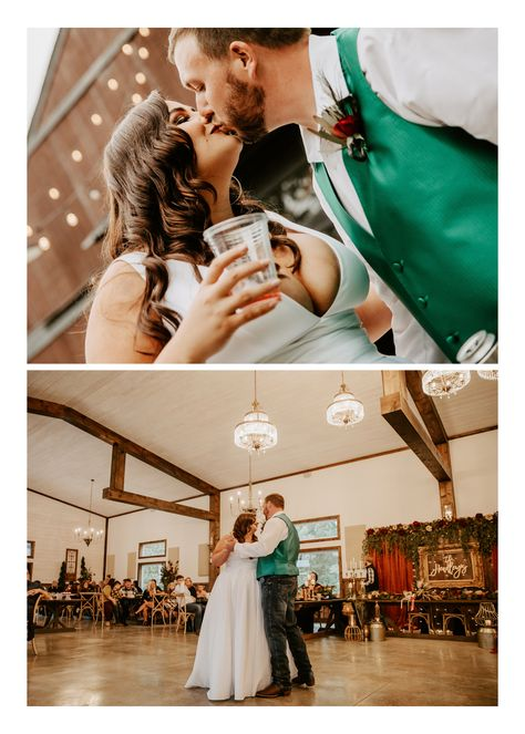 From the insanely gorgeous bouquets (Can't stop thinking about them!), to the ceremony and reception decor, to the colors (Screaming fall!), to the bride (I MEAN … all the heart eyes!!! Seriously beyond stunning!) #WeddingPhotographer #MissouriWedding #FallWedding #WeddingDetails #WeddingReception #WeddingDecor #WeddingInspo #WeddingInspiration #WeddingDress #BrideandGroomPortraits #WeddingPortraits