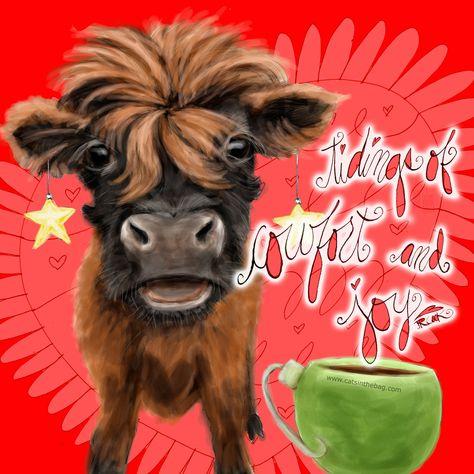 creativity Tidings of COWfort and JOY!...