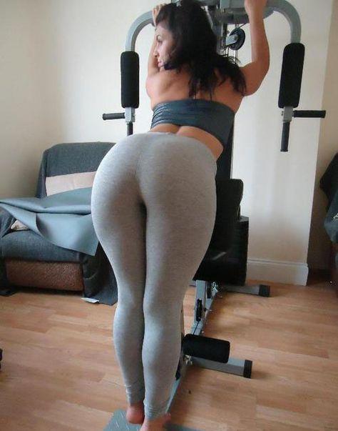 Hot Latin Chica Girl in Yoga Pants