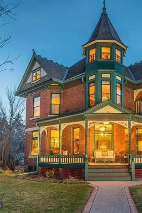 1897 Queen Anne For Sale In Bozeman Montana Captivating Houses Mansions Victorian Mansions Bozeman Montana