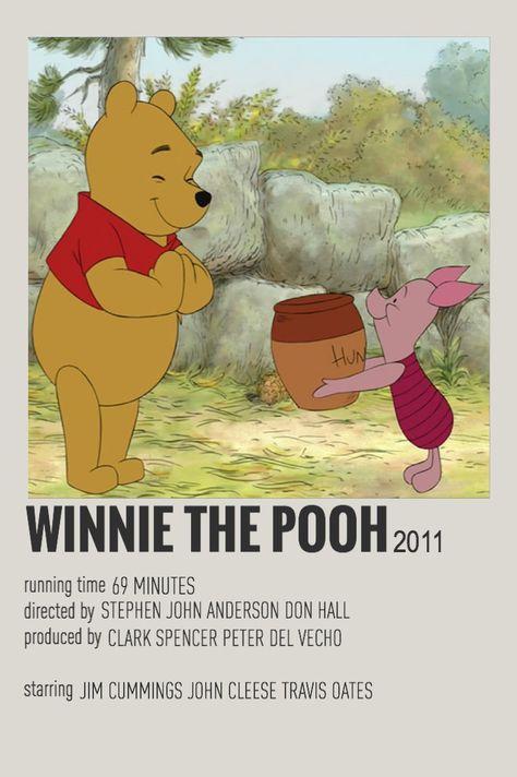 winnie the pooh minimalist poster- chloe