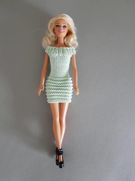 65 Best Barbie knitting images in 2020 | Barbien vaatteet