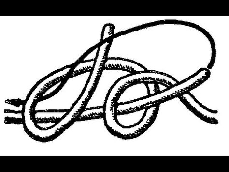 незаметный узел для связывания нитей ткацкий узел завязываем